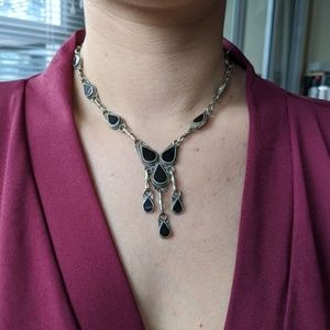 Bohemian Vintage Necklace with earrings